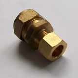 Brass Compression Microbore Reducer 15mm x 10mm - 244015RB
